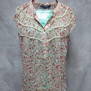 Size medium floral shirt